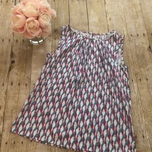 Talbots Outlet Parrot Print Tank Small